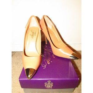 Fergie Shoes - Fergie Podium Heels in Camel
