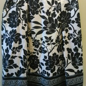 KS Selection Dresses & Skirts - Beautiful blue and white flowed skirt.