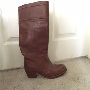 82% off Frye Shoes - Frye knee high boots from Holly\'s closet on ...
