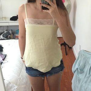 L'AGENCE Tops - Cream cami