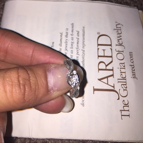 Jareds Galleria of Jewelry Jewelry 16 Ct Diamond Promise Ring In