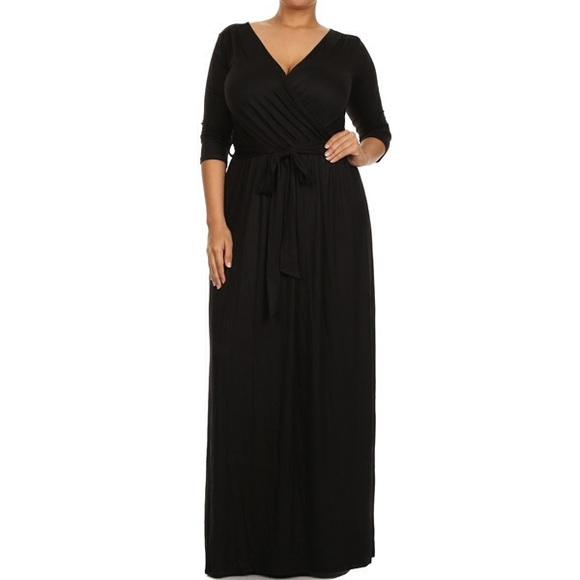 Belted Wrap Dress