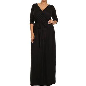 ultrachicfashion.com Dresses - Belted Wrap Dress