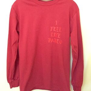 Kanye West The Life of Pablo long sleeve #TLOP