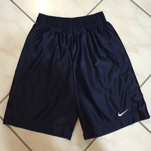 Nike navy blue basketball shorts men's small