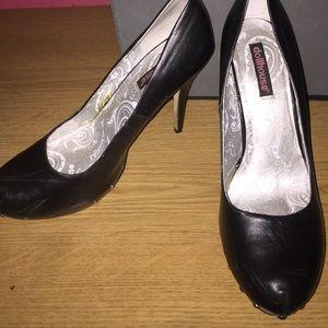 Shoes - Dollhouse Black Heels
