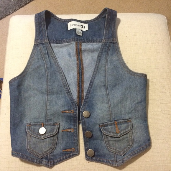 Forever 21 Jackets & Coats - Denim vest