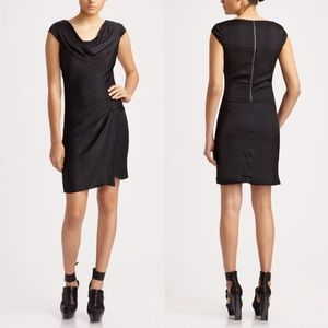 • Helmut Lang cap sleeve dress size 8•