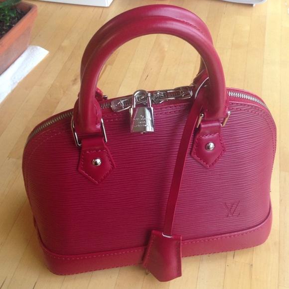 3b63a7c81f4b Louis Vuitton Handbags - Louis Vuitton Alma BB epi leather