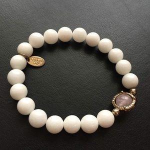 White bead bracelet by Cara - Nordstrom