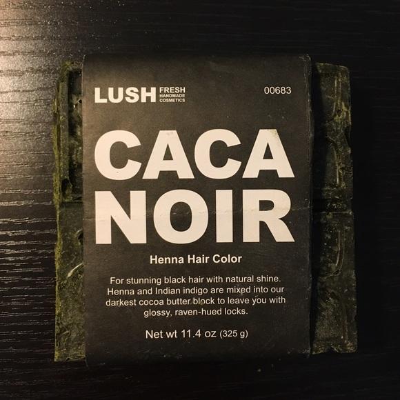 Lush Makeup Caca Noir Henna Hair Dye Poshmark