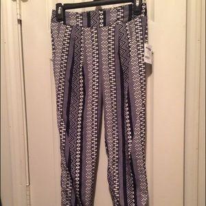 super cute printed pants