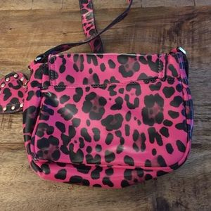 7a71fd379f Mulberry for Target Bags - Mulberry for target. Pink leopard crossbody.