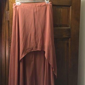 Dresses & Skirts - Coral Mini-Maxi skirt