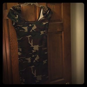 Dresses & Skirts - Army Bodycon dress