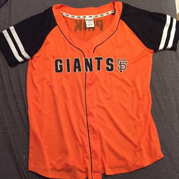 0f274971136 VICTORIA SECRET PINK San Francisco Giants jersey. M 572ab2d48f0fc4b81000817d