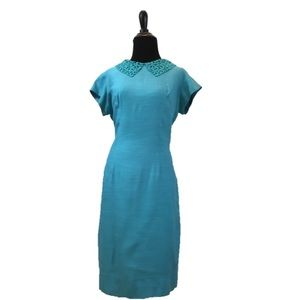 True Vintage 1960's Wiggle Dress
