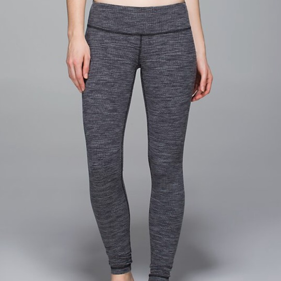 c5533070b5 lululemon athletica Pants - ⚡️SALE Lululemon Diamond Jacquard Wunder Under