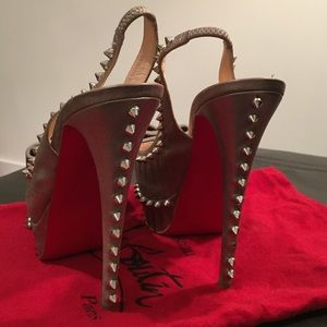 Christian Louboutin Shoes - Christian Louboutin spike heels sold out rare
