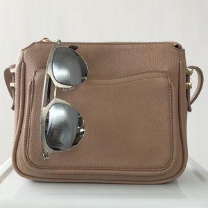 Accessories - Gunmetal Silver Mirrored Statement Sunglasses