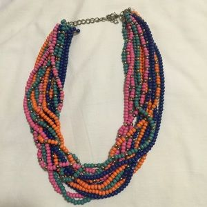 Multi-Colored Beaded Necklace!