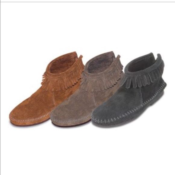 Womens Moccasin Boots