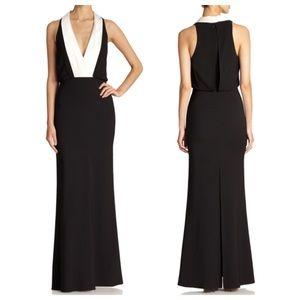 ABS Allen Schwartz Dresses & Skirts - ABS Tuxedo Crepe Dress
