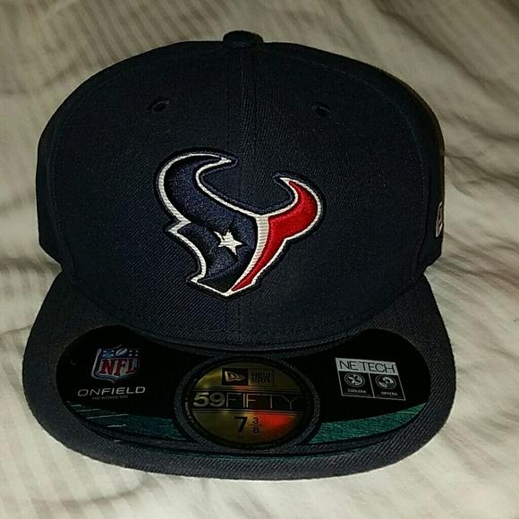 new arrival 33e35 6b825 New Era Houston Texans Fitted Hat. M 572aec9c13302a7db800f4b8