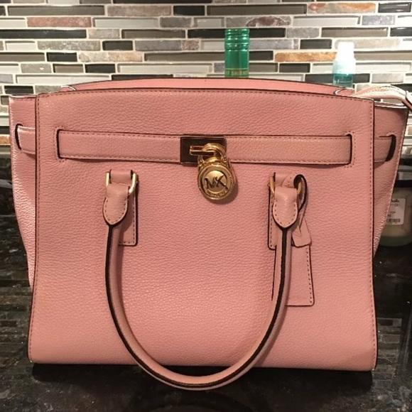 110e8a21a430 Michael Kors Bags | Nwt Hamilton Traveler In Blossom | Poshmark
