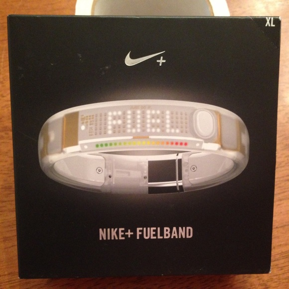 Nike+ Fuelband + Fuel Band XL Clear White
