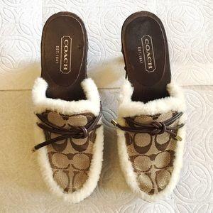 Authentic Coach Clogs / Shoes