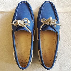 Sperry Top/Sider for J. Crew Blue Loafers