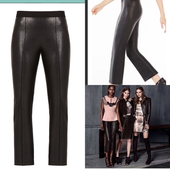 7299393d8489e BCBGMaxAzria Pants | Tate Faux Leather | Poshmark
