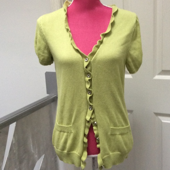 Kenar - Light green cardigan sweater from Cindy's closet on Poshmark