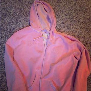 Pink life is good hoodie