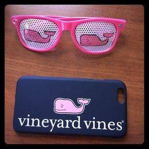Vineyard Vines sunglasses and phone case