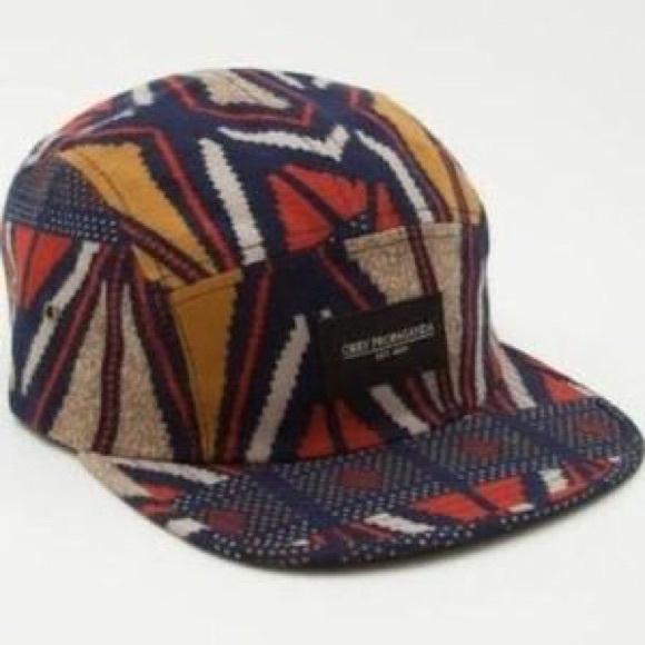 Obey Propaganda Navy Aztec Hat a5678b3f685