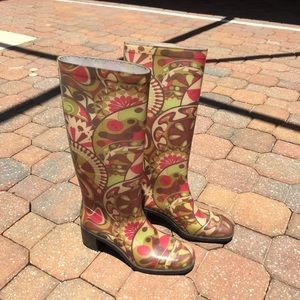 Emilio Pucci Shoes - Vintage Emilio Pucci rain boots