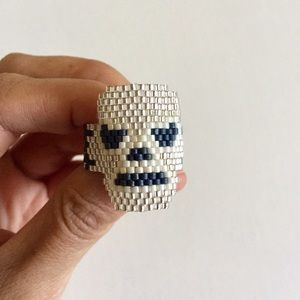 Urban Outfitters Jewelry - ✨HP✨Amazing Hand Made Luchador Ring