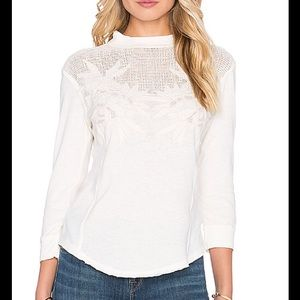 FINAL SALE FREE PEOPLE PRIMROSE TEE
