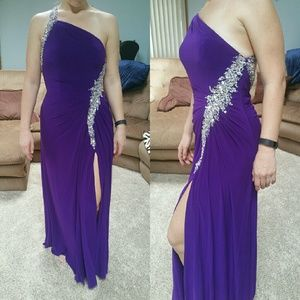 Night Moves Dresses & Skirts - BRAND NEW open back prom gown