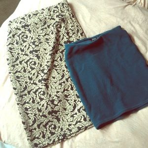 Bundle of Two Forever21 Tube Skirts