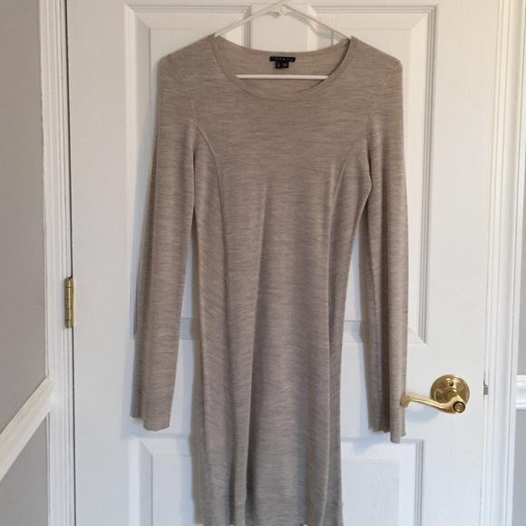 5e1b753f0a5 Theory Siya Staple Grey Cashmere Sweater Dress. M 572b9f6898182905e201c3bf
