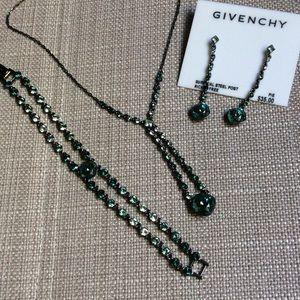 Givenchy Green Ombré Set