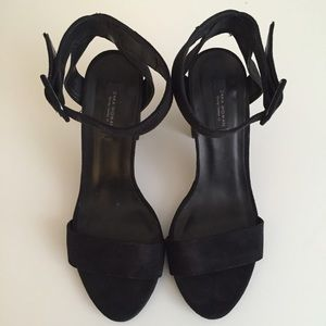 Zara Ankle Wrap Sandals (No Trades)