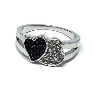 Jewelry - 925 Sterling Silver Cubic Zirconia Ring