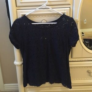 Abercrombie & Fitch Tops - Abercrombie and Fitch lace shirt
