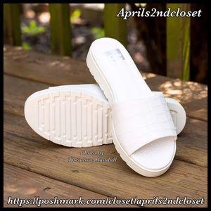 BC Footwear Shoes - ❗1-HOUR SALE❗️SANDALS Croc Embossed Slides