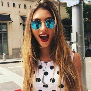 ray ban sunglasses round blue