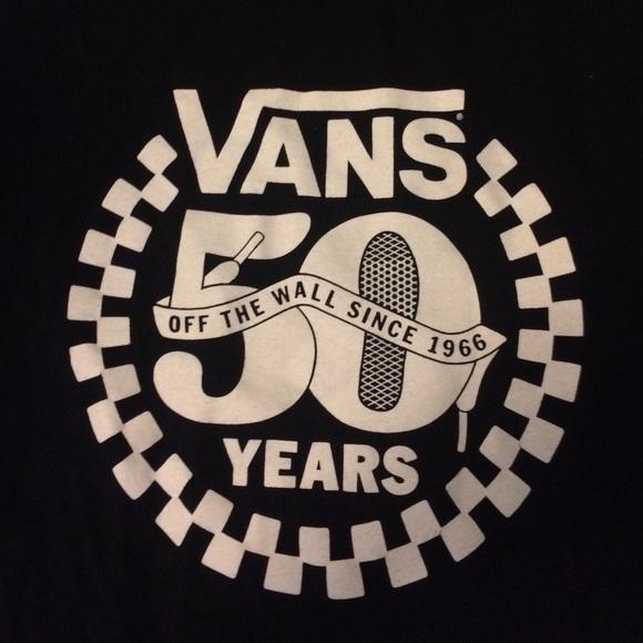 Vans 50th Anniversary T-Shirt. M 572bb4fe5a49d0803f00adb7 8cd8df0ba2cf